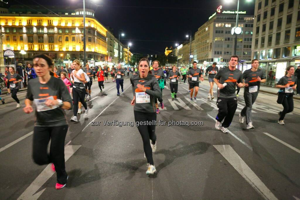 erste bank vienna night run 2015, © leisure.at/Ludwig Schedl (02.10.2015)