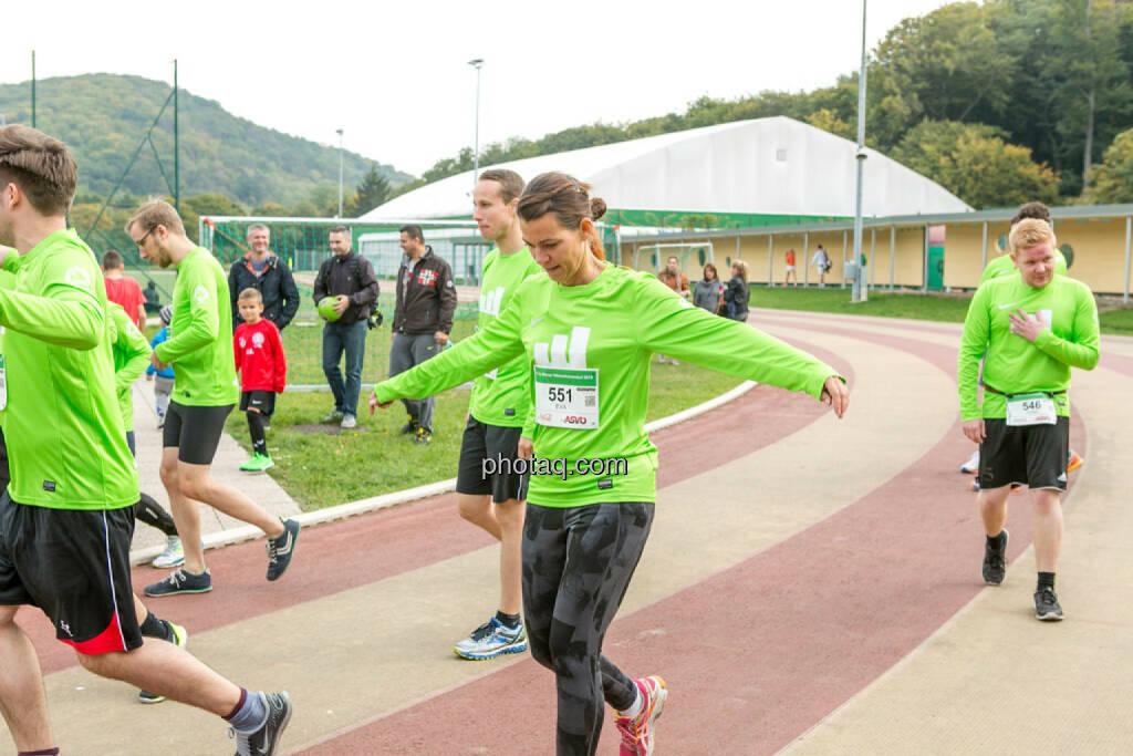 Team wikifolio Runplugged Runners, © Martina Draper/photaq (04.10.2015)
