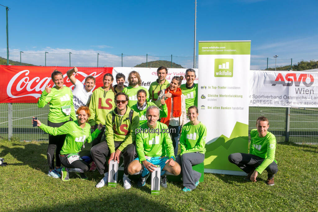 wikifolio Runplugged Runners, © Martina Draper/photaq (04.10.2015)