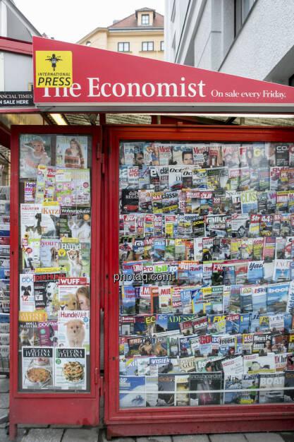 Medien, Kiosk, Zeitungen, © Martina Draper (21.02.2013)