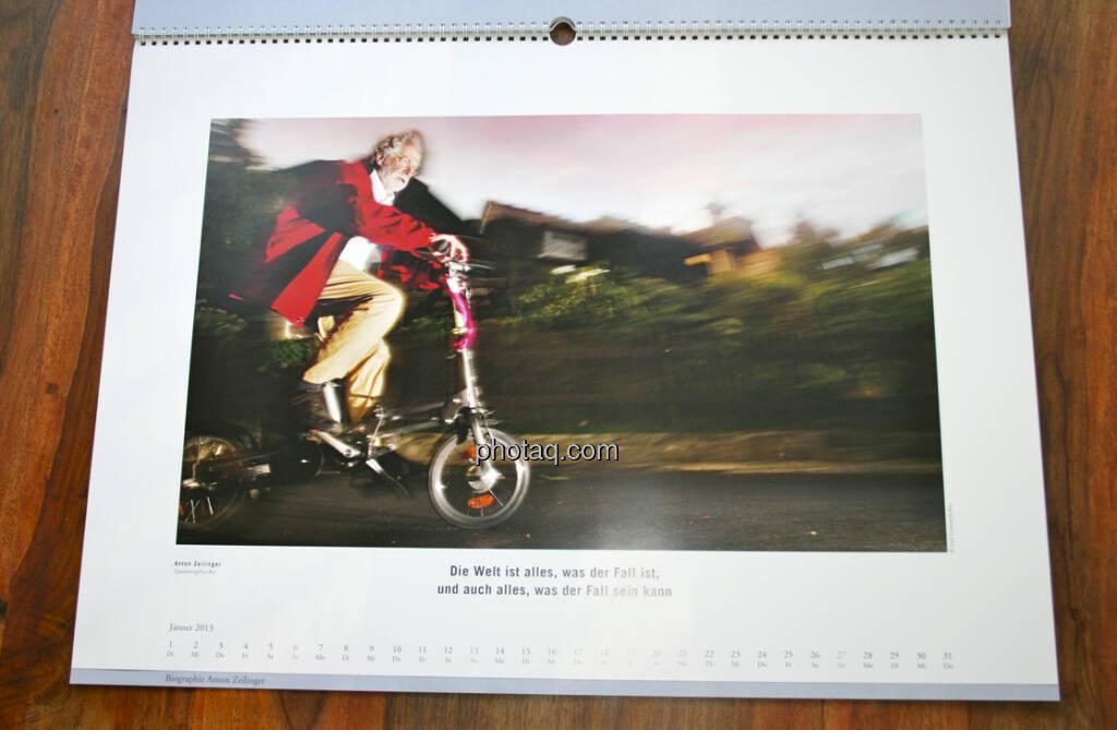 Anton Zeilinger, Physiker ... aus dem AT&S-Kalender 2013, konzipiert und koordiniert von Martin Theyer, © AT&S (23.03.2013)