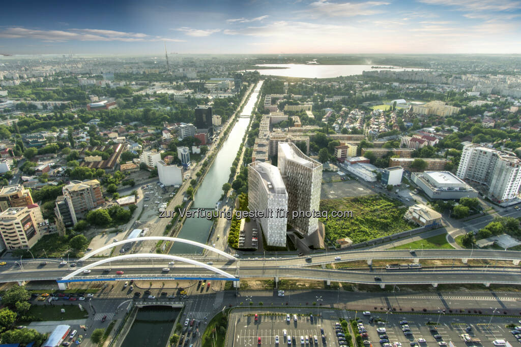 Orhideea Towers mit rd. 37.000m² Bürofläche : CA Immo startet neues Büroentwicklungsprojekt in Bukarest : Fotocredit: CA Immo, © Aussendung (08.10.2015)