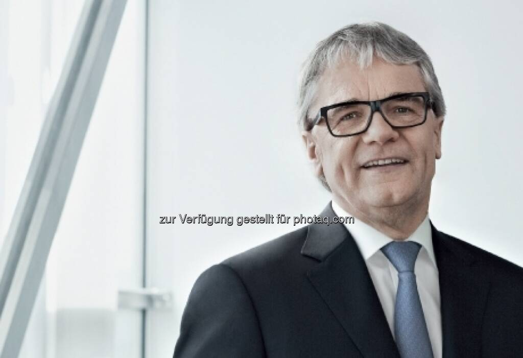 Für 5 Jahre wiederbestellt: Wolfgang Eder - Vorsitzender des Vorstandes und CEO der voestalpine AG / Leitung der Steel Division (23.03.2013)