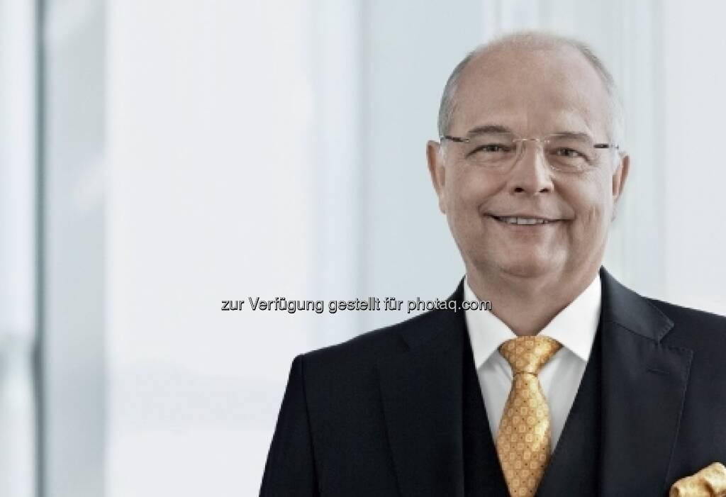 Für 5 Jahre wiederbestellt: Franz Rotter - Mitglied des Vorstandes der voestalpine AG / Leitung der Special Steel Division / Vorsitzender des Vorstandes der voestalpine Edelstahl GmbH (23.03.2013)