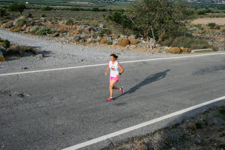 laufen, Kreta, Griechenland, Runplugged