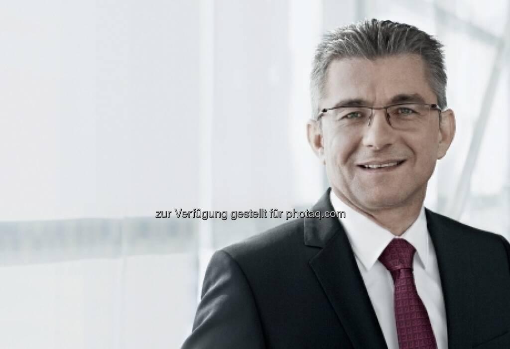Für 5 Jahre wiederbestellt: Herbert Eibensteiner - Mitglied des Vorstandes der voestalpine AG / Leitung der Metal Forming Division (23.03.2013)