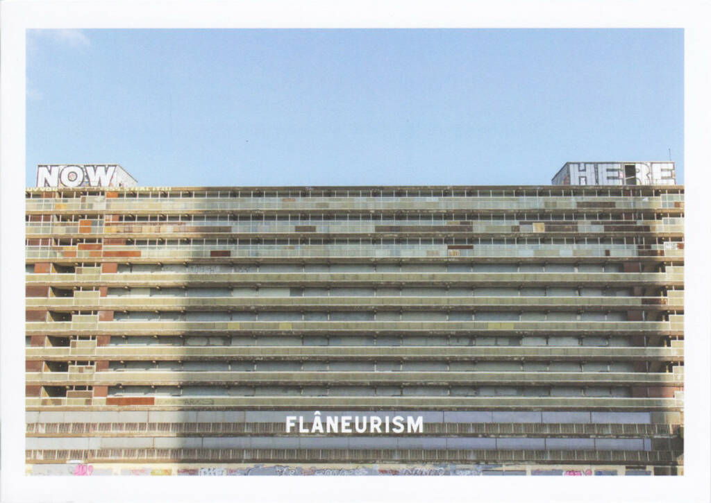 Rik Moran - What Once Was Future is Now Forgotten, Flâneurism 2015, Cover - http://josefchladek.com/book/rik_moran_-_what_once_was_future_is_now_forgotten, © (c) josefchladek.com (10.10.2015)