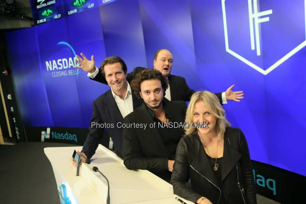 Great photos from the Founders Forum Closing Bell Ceremony!  Source: http://facebook.com/NASDAQ (11.10.2015)