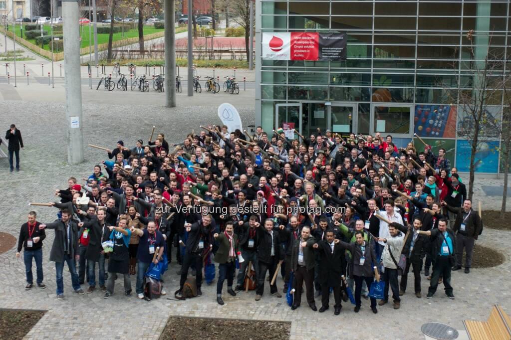 DrupalCamp Vienna : Connecting Open Minds: Vom 27. bis zum 29. November 2015 findet wieder ein internationales DrupalCamp an der FH Technikum Wien statt : 400 Teilnehmer werden web-spezifische Themen wie Content-Management, Content-Strategy, PHP und Drupal behandeln : Fotocredit: Michael Schmid, © Aussender (12.10.2015)