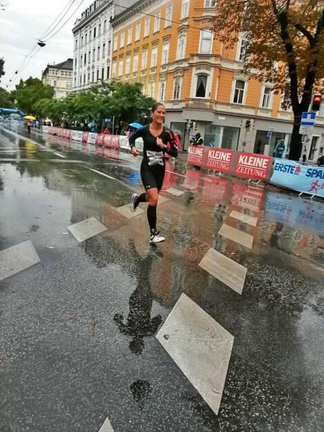 Monika Kalbacher beim Graz Marathon, © Diverse  (12.10.2015)