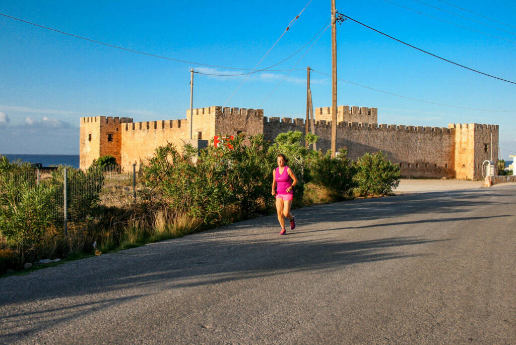 Frangokastello, Kastell, Fort, Kreta, Griechenland, © Martina Draper (12.10.2015)