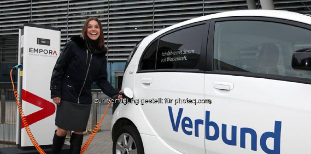 Verbund, Elektroauto, Tanken neu, siehe http://www.verbund.com/bg/de/blog/2013/01/12/e-mobile-power-empora-elektromobilitaet (23.03.2013)