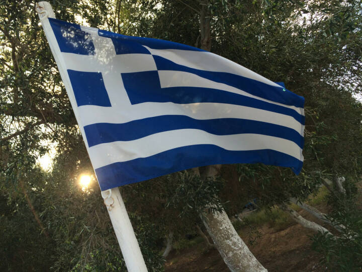 Griechenland, Fahne