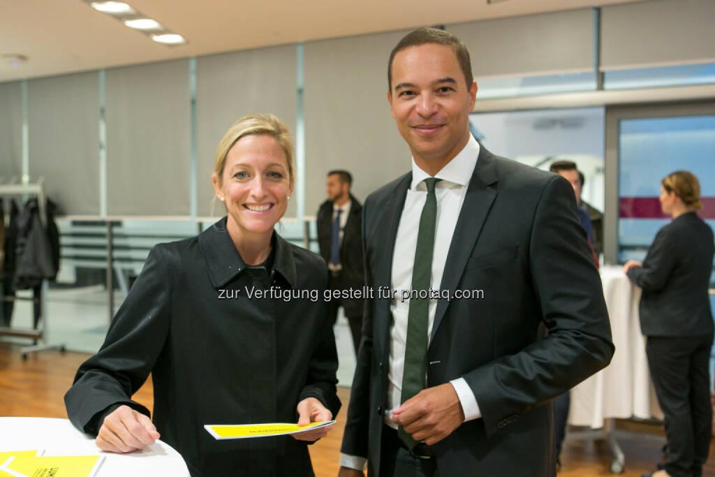Botschafterin Alexa Wesner, Robin Lumsden (Lumsden and Partners), © Martina Draper (16.10.2015)
