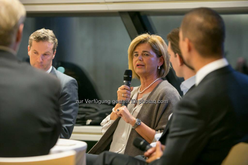 Bettina Glatz-Kremsner (Vorstand Casinos Austria & Österreichische Lotterien), © Martina Draper (16.10.2015)