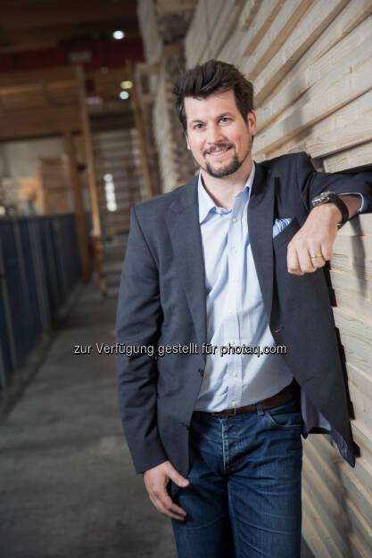 Christoph Kulterer neuer Obmann von proHolz Austria (C) Hasslacher Norica Timber, © Aussender (16.10.2015)