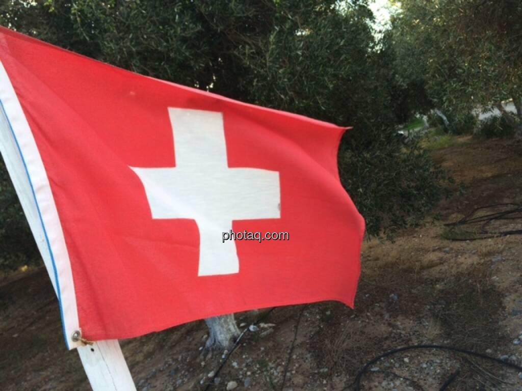 Schweiz, Fahne, © Martina Draper (17.10.2015)