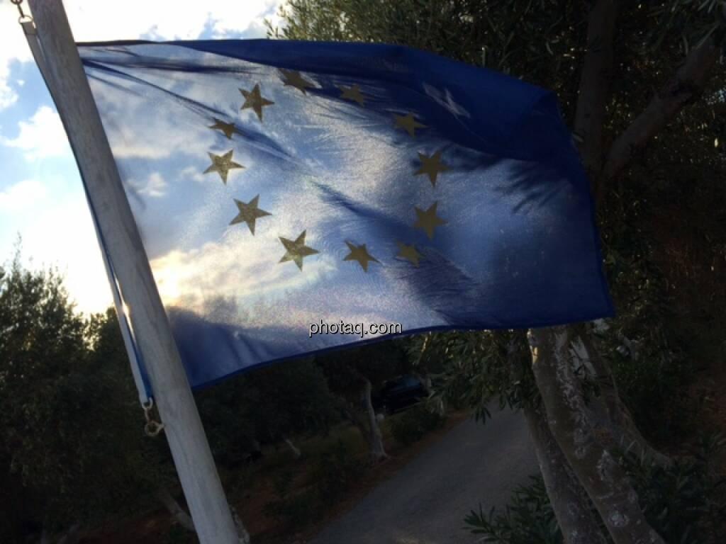 EU, Fahne, © Martina Draper (17.10.2015)