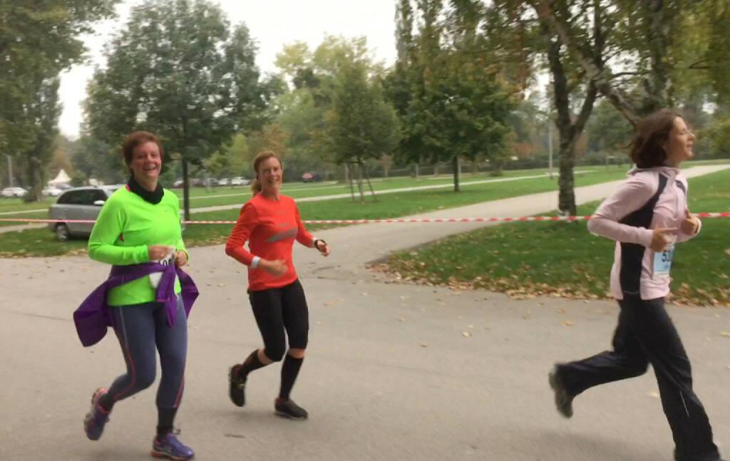 3km mit der lieben Isabel Göpfert Samer gelaufen, © Martina Draper (19.10.2015)