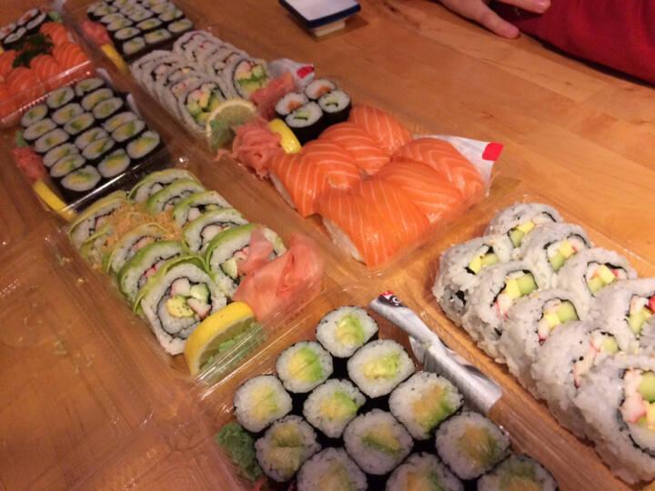 Sushi, höchst verdient