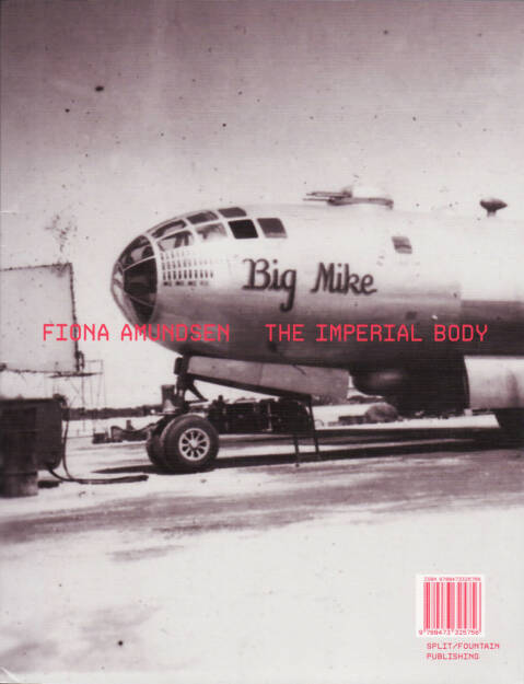 Fiona Amundsen - The Imperial Body, split/fountain 2015, Cover - http://josefchladek.com/book/fiona_amundsen_-_the_imperial_body, © (c) josefchladek.com (19.10.2015)