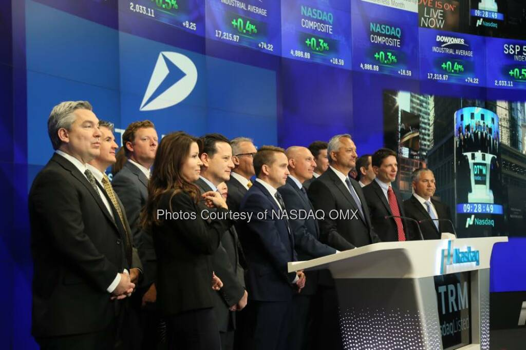 Determine rang the Nasdaq Opening Bell in celebration of its new name and 15 years as Nasdaq Listed Company!   Source: http://facebook.com/NASDAQ (19.10.2015)
