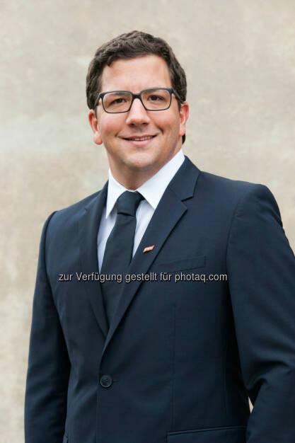 Philipp Gattermayer (GF Henkell & Co. Sektkellerei GmbH) : Anfang Oktober hat Philipp Gattermayer, als neuer Geschäftsführer, die Verantwortung der Henkell & Co Sektkellerei GesmbH übernommen : Fotocredit: Henkell & Co. Sektkellerei GmbH / Stefan Knittel, © Aussendung (20.10.2015)