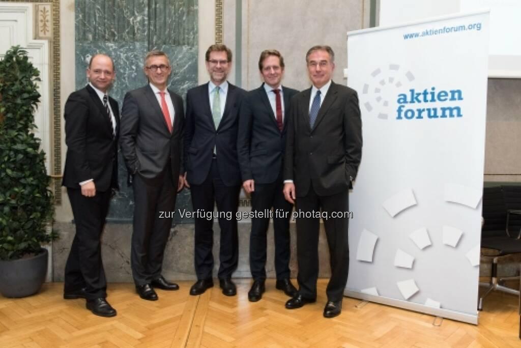 Thomas Hofer, Robert Ottel, Andreas Zakostelsky, Kai Jan Krainer, Friedrich Mostböck (20.10.2015)