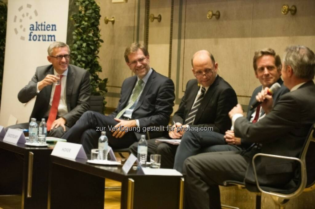 Robert Ottel, Andreas Zakostelsky, Thomas Hofer, Kai Jan Krainer, Friedrich Mostböck (20.10.2015)