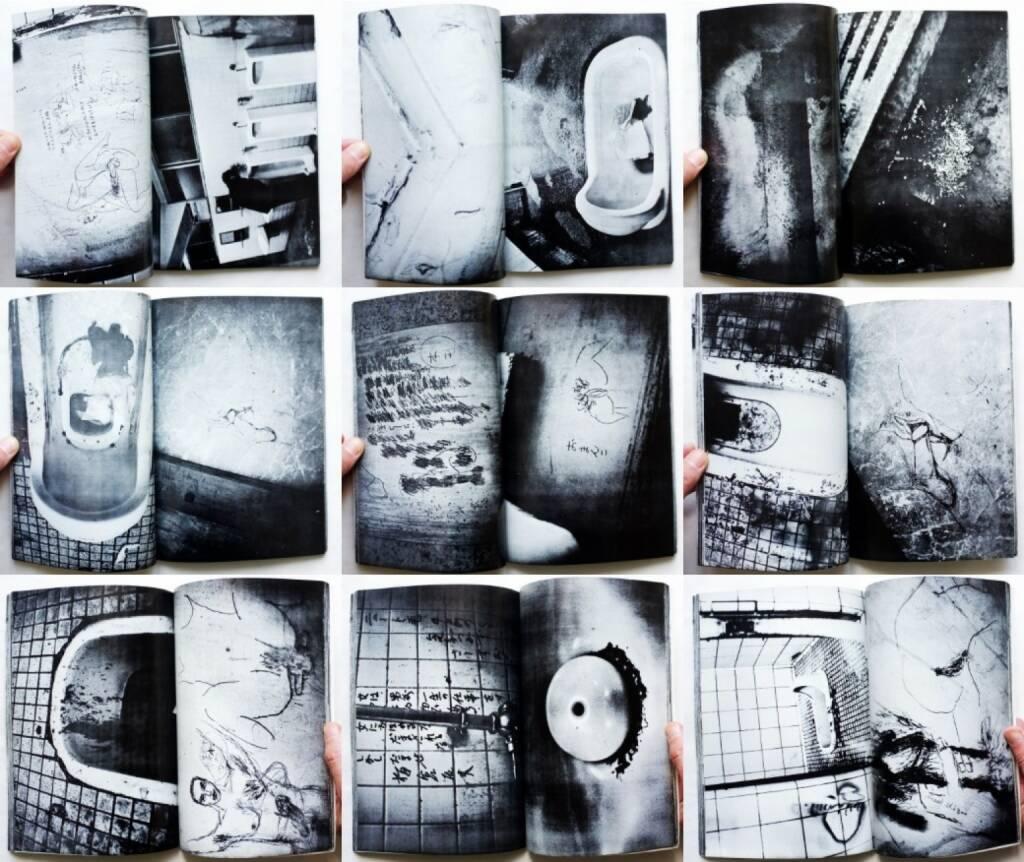 Nobuyoshi Araki - Benjo (高瀬芳夫 荒木経惟 便所 ゲリバラ5), Fukushu-Shudan, Geribara-5 1971, Beispielseiten, sample spreads - http://josefchladek.com/book/nobuyoshi_araki_-_benjo, © (c) josefchladek.com (21.10.2015)