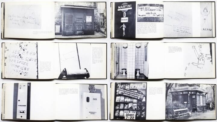 Ulrik Ross & Michael Rütz - Retiradekunst, Chr. Erichsens Forlag 1968, Beispielseiten, sample spreads - http://josefchladek.com/book/ulrik_ross_michael_rutz_-_retiradekunst