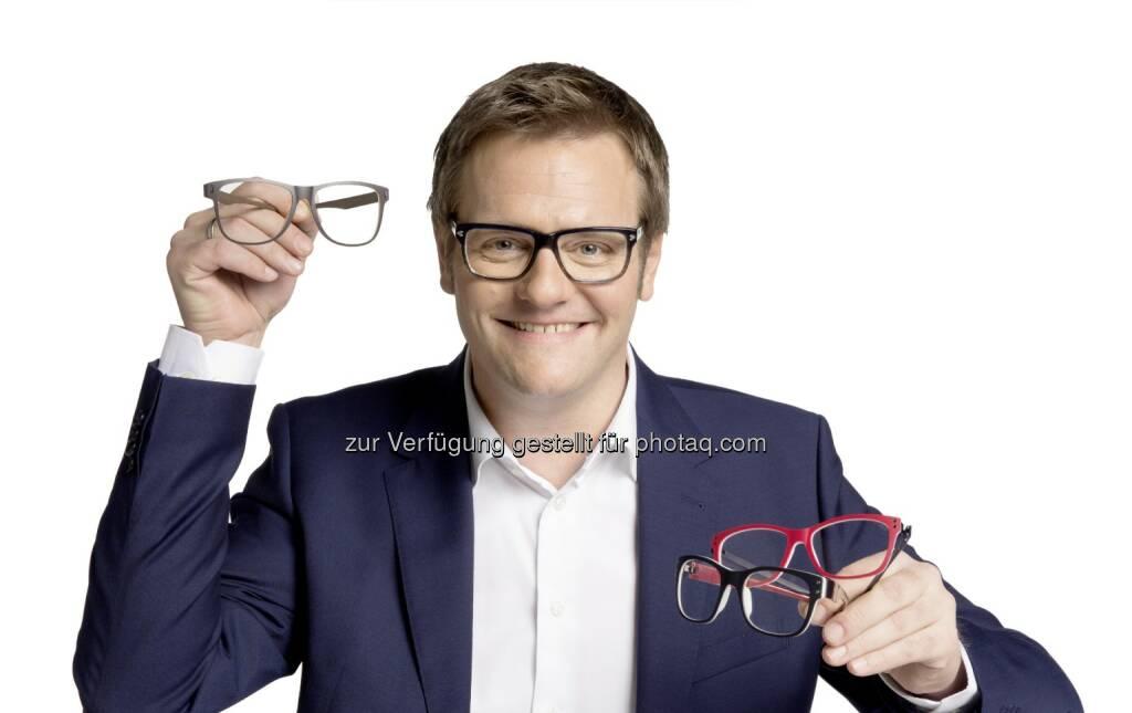 """Robert F. Hartlauer: """"Österreich – brillenreich!"""" Drei von vier Österreichern tragen Brillen. - laut aktueller Studie (Bild: Hartlauer), © Aussendung (23.10.2015)"""
