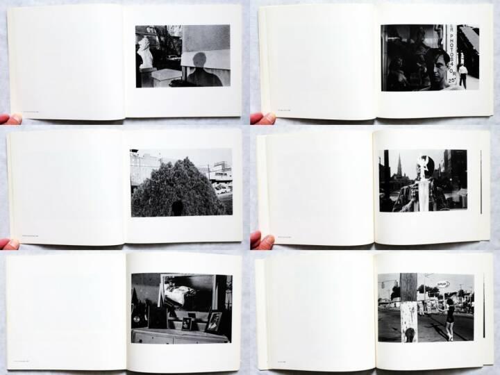 Lee Friedlander - Self Portrait, Haywire Press 1970, Beispielseiten, sample spreads - http://josefchladek.com/book/lee_friedlander_-_self_portrait