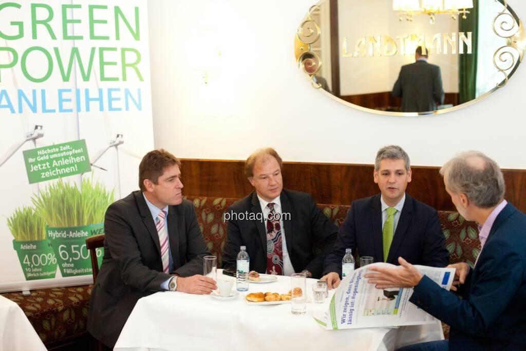 Andreas Dangl, Michael Trcka und Frank Dumeier, WEB Windenergie AG (23.10.2015)