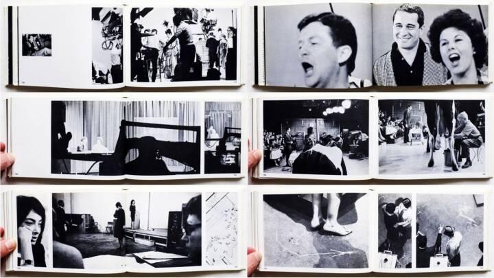 Max Egly & Franck Horvat - J'aime la Télévision, Editions Rencontre 1962, Beispielseiten, sample spreads - http://josefchladek.com/book/max_egly_franck_horvat_-_jaime_la_television