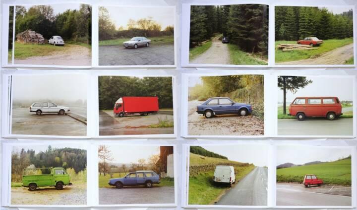 Bernhard Fuchs - Autos, König 2006, Beispielseiten, sample spreads - http://josefchladek.com/book/bernhard_fuchs_-_autos