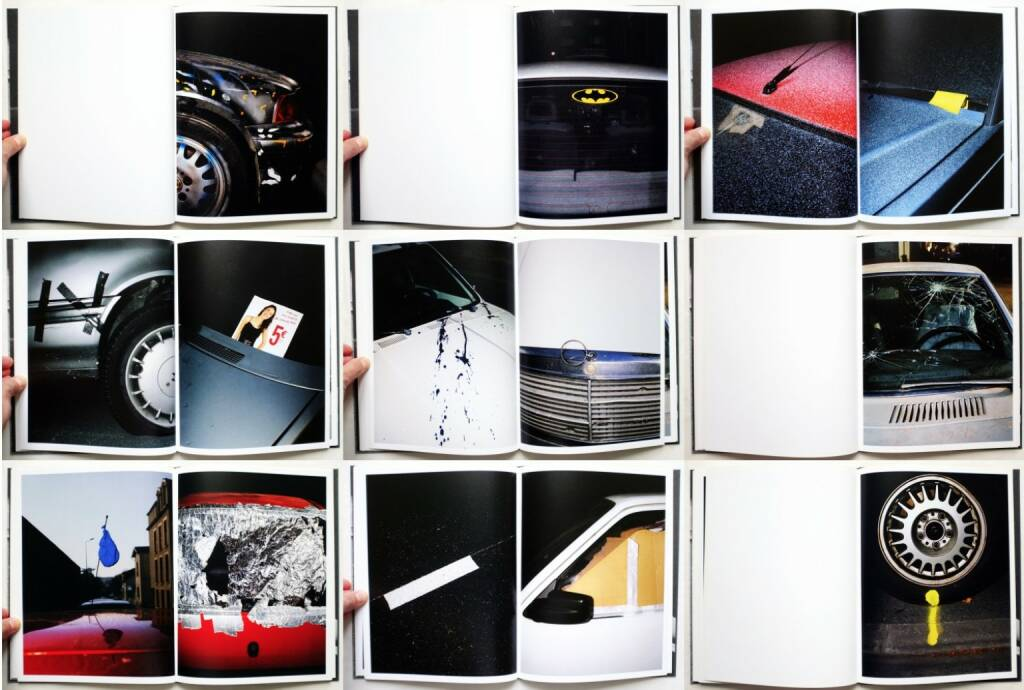 Sébastien Girard - desperate cars, Self published 2010, Beispielseiten, sample spreads - http://josefchladek.com/book/sebastien_girard_-_desperate_cars, © (c) josefchladek.com (25.10.2015)