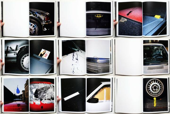 Sébastien Girard - desperate cars, Self published 2010, Beispielseiten, sample spreads - http://josefchladek.com/book/sebastien_girard_-_desperate_cars