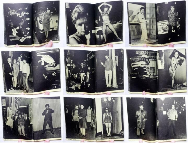 Katsumi Watanabe - Shinjuku gunto den 66/73, Bara gahou sha 1973, Beispielseiten, sample spreads - http://josefchladek.com/book/katsumi_watanabe_-_shinjuku_gunto_den_6673_新宿群盗伝_6673_渡辺克巳