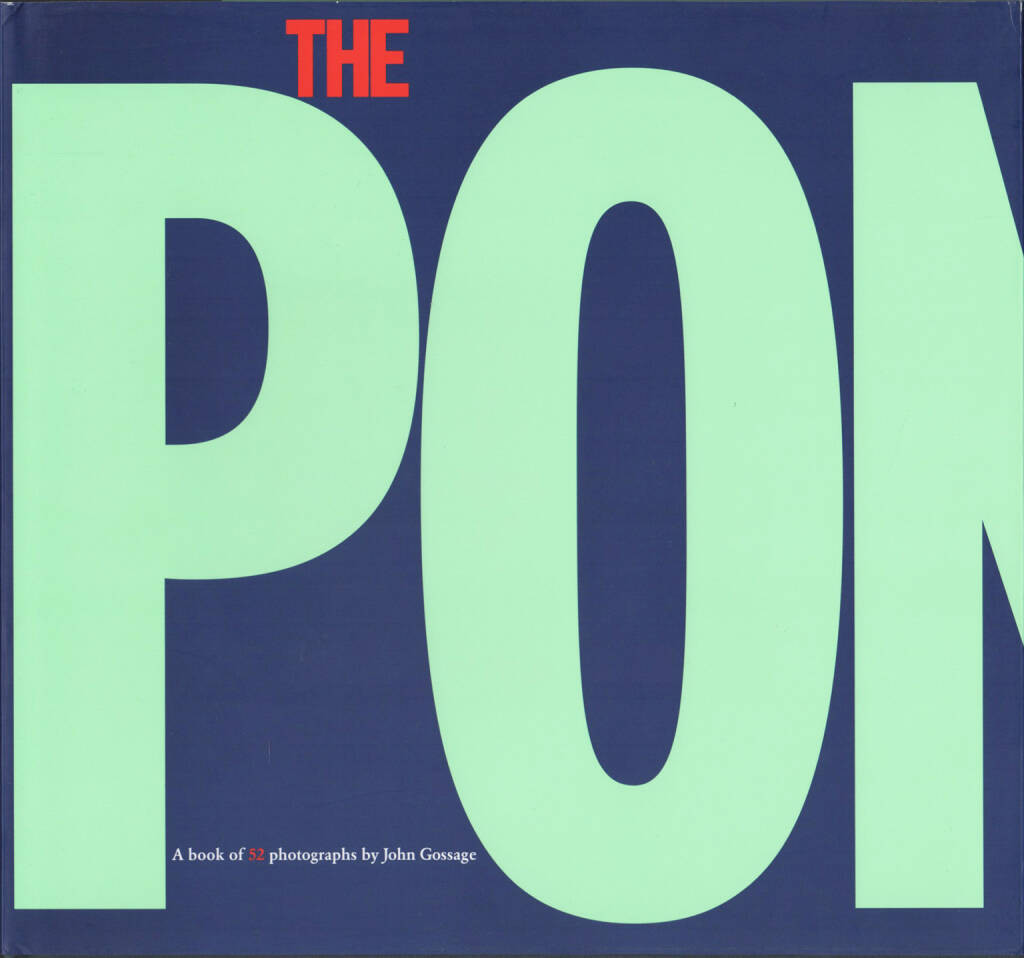 John Gossage - The Pond (second edition), Aperture 2010, Cover - http://josefchladek.com/book/john_gossage_-_the_pond_second_edition, © (c) josefchladek.com (29.10.2015)
