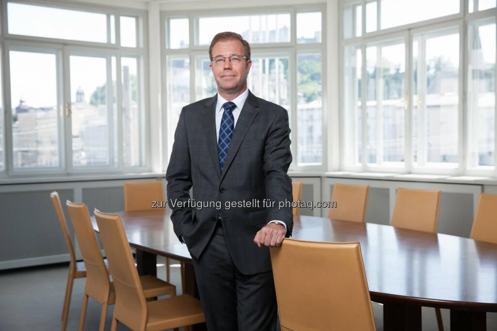 Markus Dürnberger (Leiter Asset Management Bankhaus Spängler) : Das Salzburger Bankhaus Spängler zeigt sich hinsichtlich der Konjunkturentwicklung in Europa und den USA optimistisch. In ihrem aktuellen Kapitalmarktausblick verweisen die Experten der Privatbank insbesondere auf den gestiegenen Konsum sowie steigende Exporte als tragende Säule des europäischen Aufschwungs : Fotocredit: Bankhaus Spängler, © Aussender (30.10.2015)