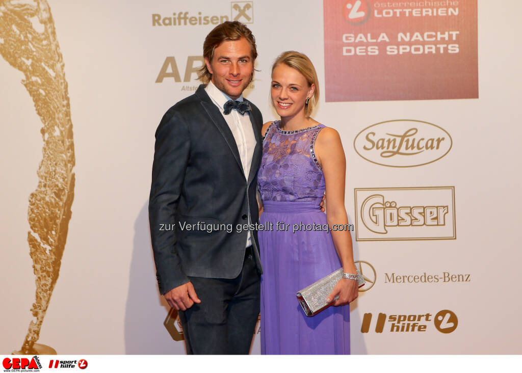 Benjamin Karl, Nina Karl : Photo: GEPA pictures/ Christian Walgram (30.10.2015)
