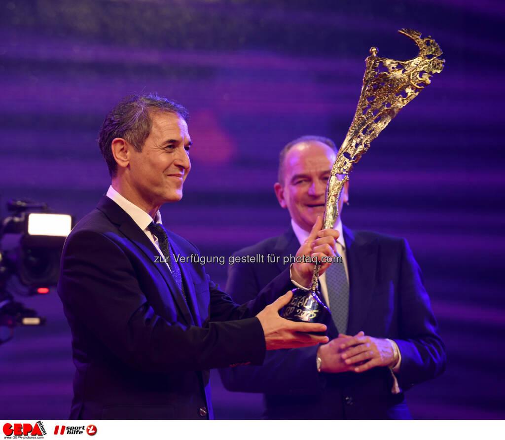 Marcel Koller, Herbert Prohaska : Photo: GEPA pictures/ Michael Riedler (30.10.2015)