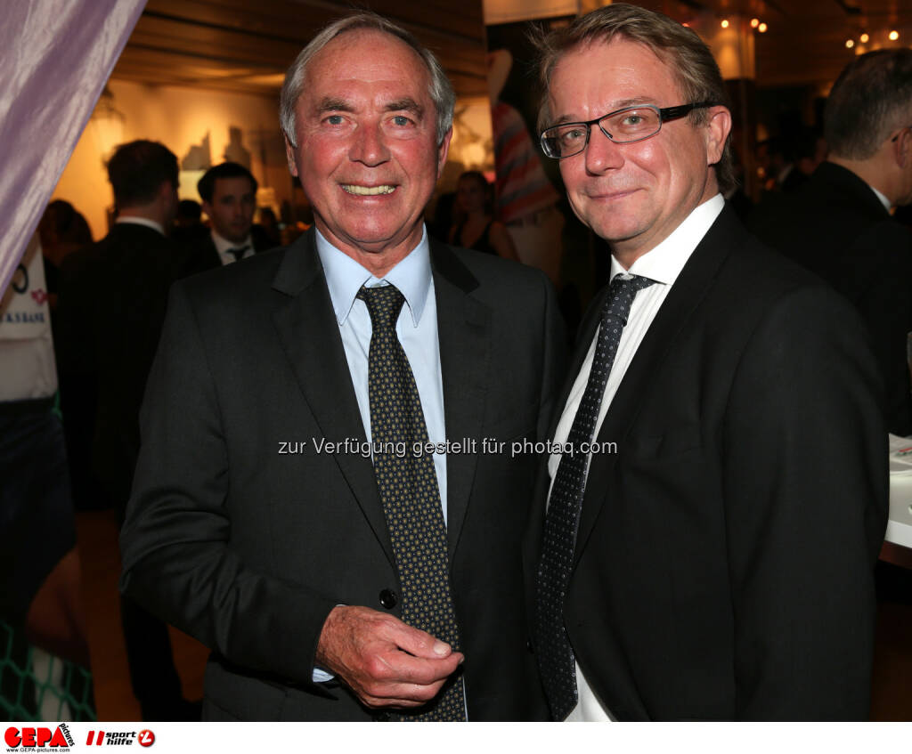 Karl Schranz, Gast : Photo: GEPA pictures/ Walter Luger (30.10.2015)