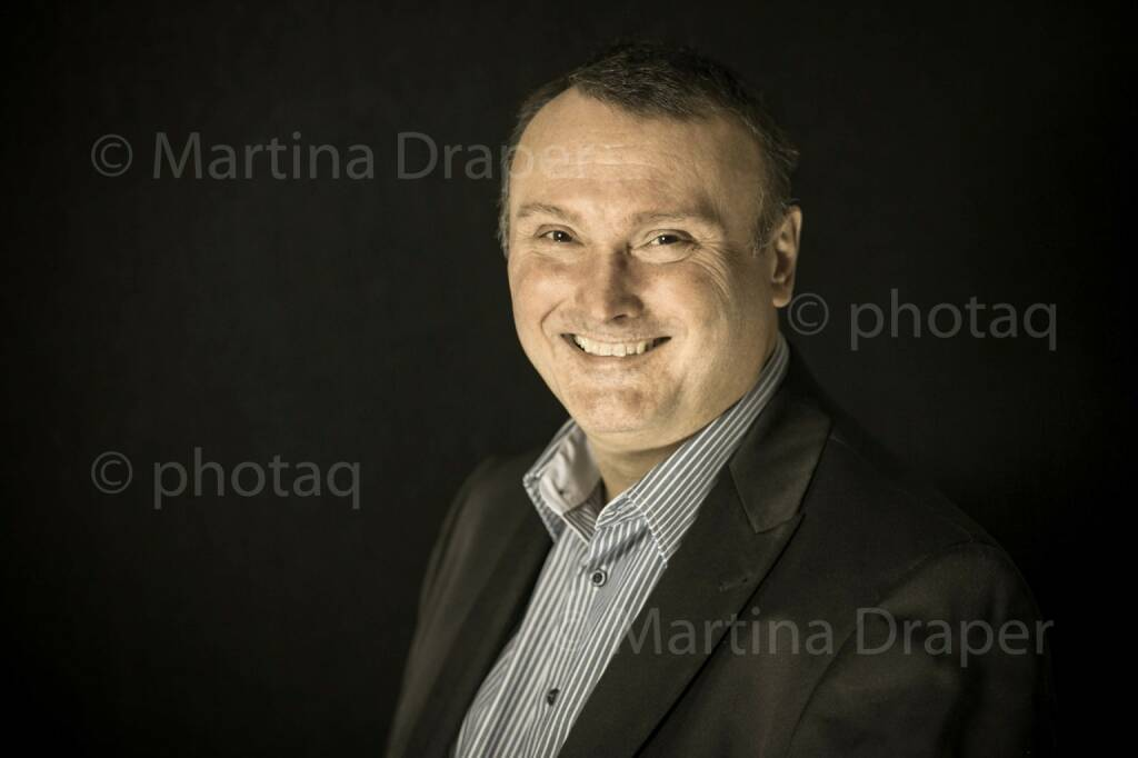 Peter Heinrich (Börsen Radio Network) #photaqseries http://photaq.com/series, © Martina Draper/photaq (01.11.2015)