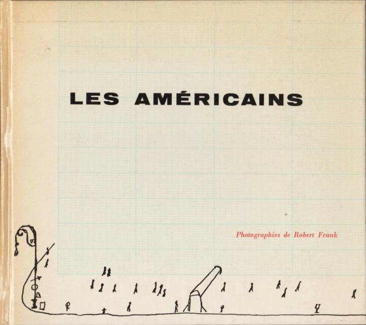 Robert Frank - Les Américains, Delpire 1958, Cover - http://josefchladek.com/book/robert_frank_-_les_americains