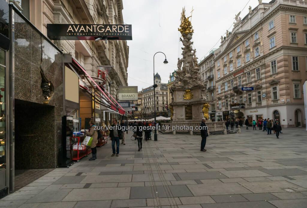 Avantgarde Properties, Wien : Avantgarde Properties eröffnet ersten Showroom am Wiener Graben : Graben 26 ist die neue Adresse für Immobilien der Premium- und Luxusklasse  : Fotocredit: Avantgarde Properties GmbH/Karoly, © Aussendung (02.11.2015)