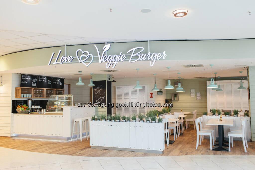 I Love Veggie Burger, Wien : Das größte rein-vegane I Love Veggie Burger-Restaurant wurde am 31.Oktober in Wien, Salzgries eröffnet : Fotocredit: Flying Diner GmbH, © Aussendung (03.11.2015)