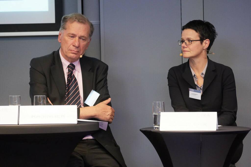 Wilhelm Rasinger (IVA), Gerda Königstorfer (Rosenbauer), © APA-Fotoservice für CIRA. Mit freundlicher Genehmigung der CIRA. (04.11.2015)