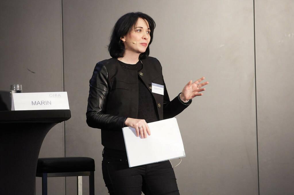 Diana Klein (Strabag, © APA-Fotoservice für CIRA. Mit freundlicher Genehmigung der CIRA. (04.11.2015)